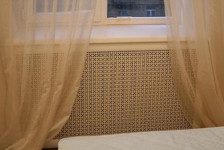 экраны на радиаторы отопления с перфорацией