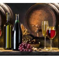 Кухонный фартук (стеновая панель) «Вино», 1000 мм