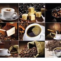 Кухонный фартук (стеновая панель) «Кофе», 1000 мм