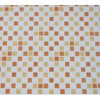 Кухонный фартук (стеновая панель) из пластика «Мозаика оранжевая», 1000 мм